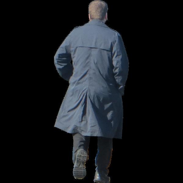 Man-in-Trenchcoat