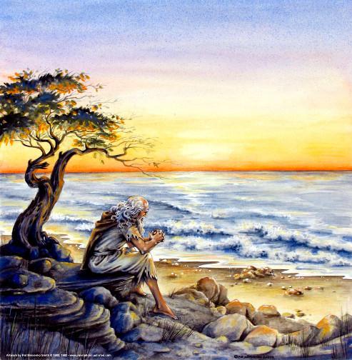 János Pátmosz szigetén