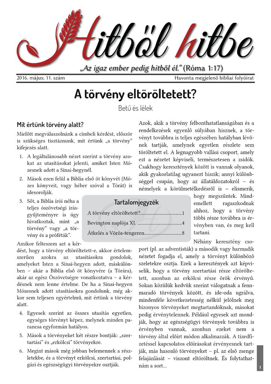 11. szám – 2016.május